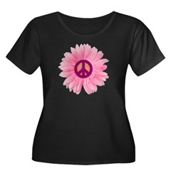 Pink Peace Daisy T