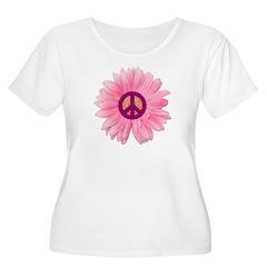 Pink Peace Daisy T-Shirt