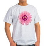 Pink Peace Daisy Light T-Shirt