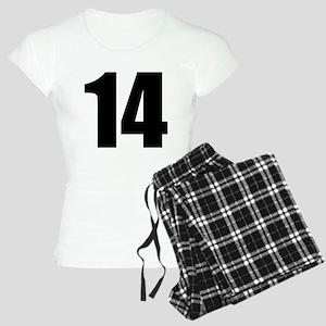 Number 14 Women's Light Pajamas