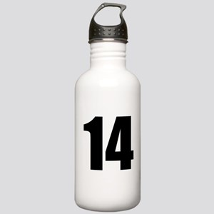 Number 14 Stainless Water Bottle 1.0L