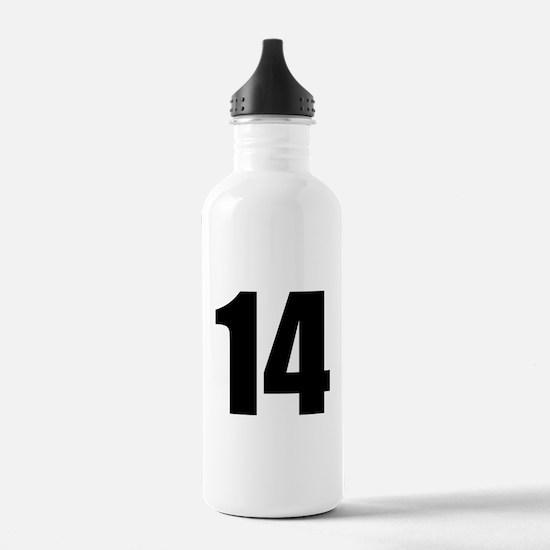 Number 14 Water Bottle