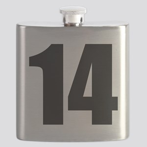 Number 14 Flask