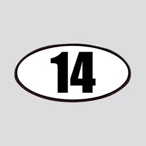Number 14 Patch