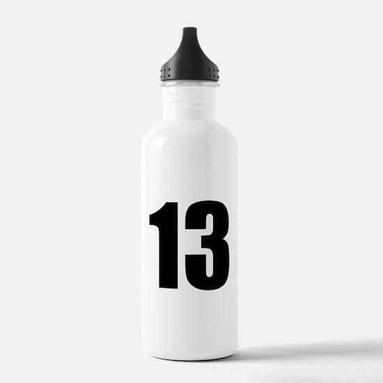 Number 13 - Thirteen Water Bottle