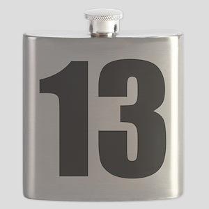 Number 13 - Thirteen Flask