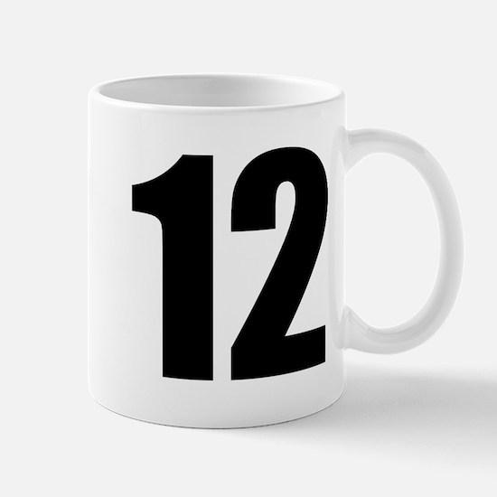 Number 12 Mug