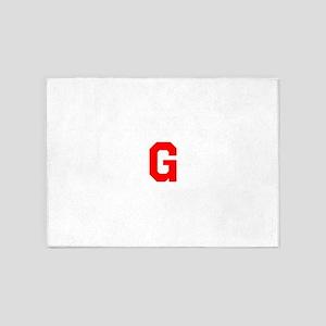 GGGGGGGGGGGGGG 5'x7'Area Rug