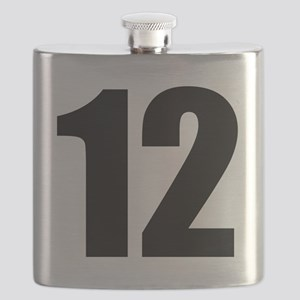 Number 12 Flask
