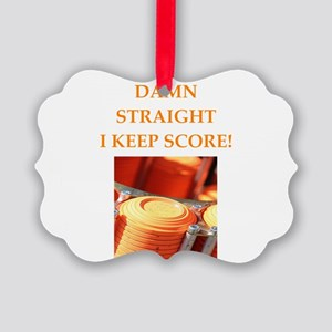 trap shooting Ornament