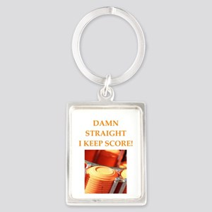 trap shooting Keychains