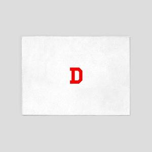 DDDDDDDDDDDD 5'x7'Area Rug