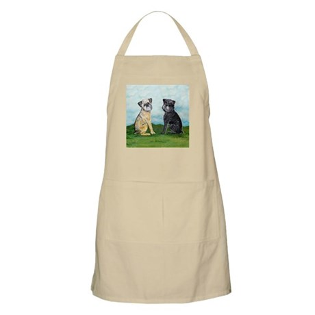 Brussels Griffon Best Friends BBQ Apron