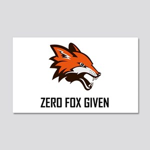 Zero Fox Given Funny Wall Decal