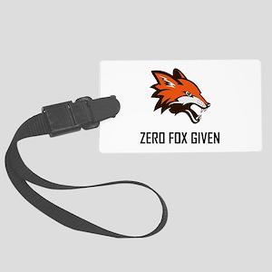 Zero Fox Given Funny Luggage Tag