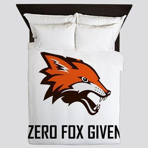 Zero Fox Given Funny Queen Duvet