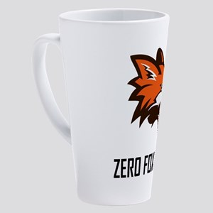 Zero Fox Given Funny 17 oz Latte Mug