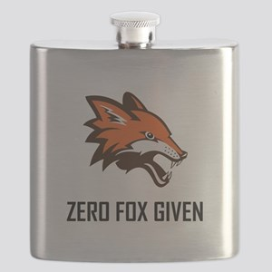 Zero Fox Given Funny Flask