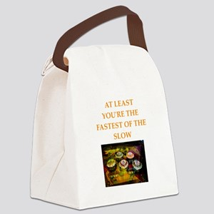 pinball Canvas Lunch Bag