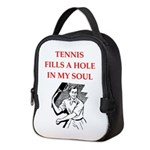 tennis Neoprene Lunch Bag