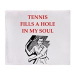 tennis Throw Blanket