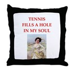 tennis Throw Pillow