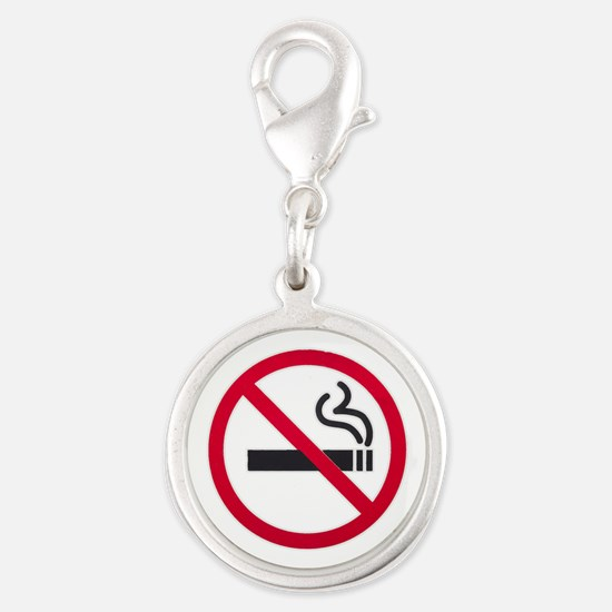 No Smoking Sign Charms