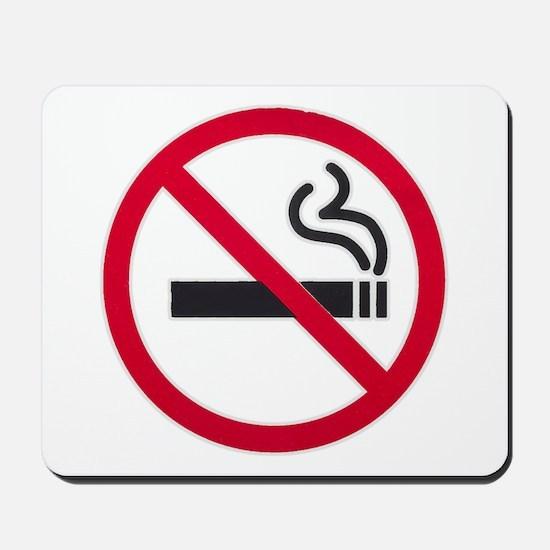 No Smoking Sign Mousepad