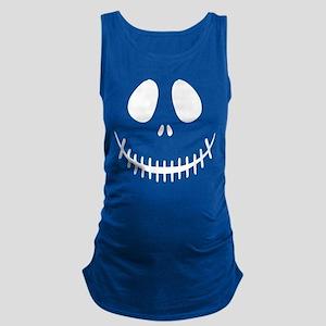 Halloween Skeleton Maternity Tank Top