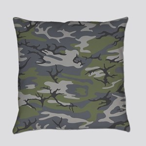 Weathered Outcrop Camo Everyday Pillow
