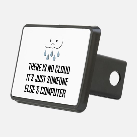 No Cloud Someone Else Computer Funny Hitch Cover