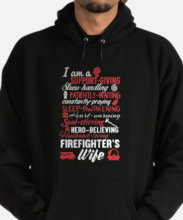 Firefighter's Wife Hoodie (dark)