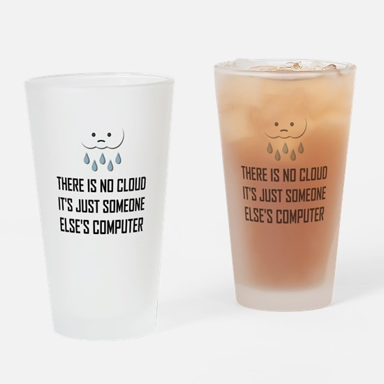 No Cloud Someone Else Computer Funny Drinking Glas