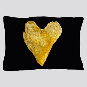 Heart Shaped Potato Chip Pillow Case