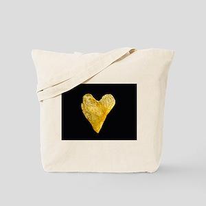 Heart Shaped Potato Chip Tote Bag
