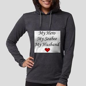 My Hero My Seabee My Husband Long Sleeve T-Shirt