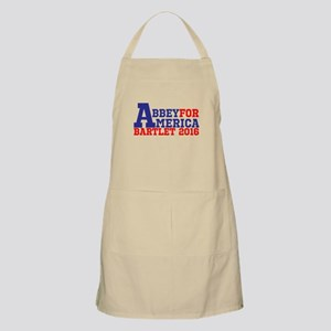 Abbey For America Bartlet 2016 Apron