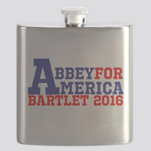 Abbey For America Bartlet 2016 Flask