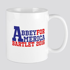 Abbey For America Bartlet 2016 Mugs