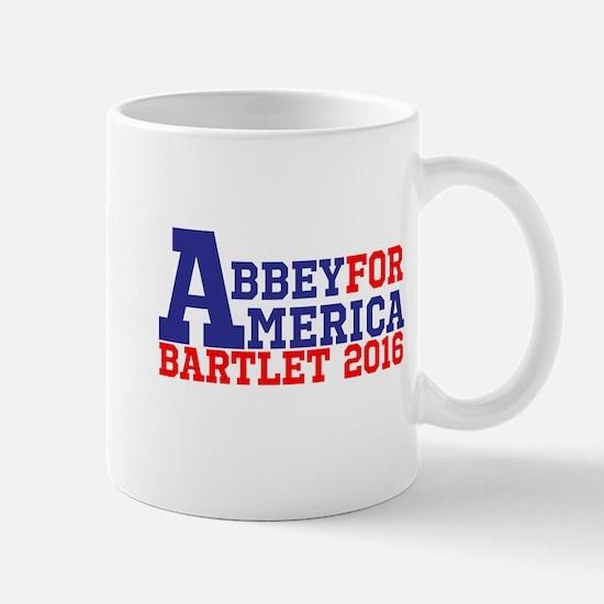 Abbey For America Bartlet 2016 Mugs