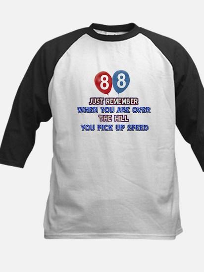 88 year old designs Kids Baseball Jersey