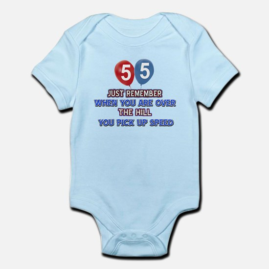 55 year old designs Infant Bodysuit