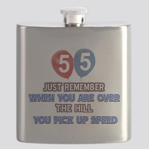 55 year old designs Flask