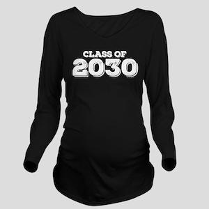 Class of 2030 Long Sleeve Maternity T-Shirt