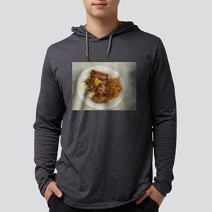plate with chicken adobo,lumpi Long Sleeve T-Shirt