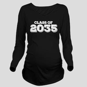 Class of 2035 Long Sleeve Maternity T-Shirt