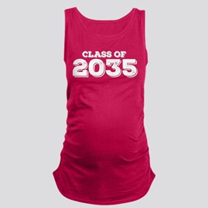 Class of 2035 Maternity Tank Top