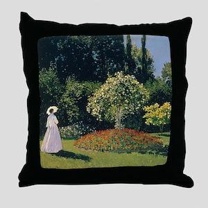 Jeanne-Marguerite Lecadre Monet Throw Pillow