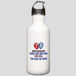 70 year old designs Stainless Water Bottle 1.0L