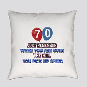 70 year old designs Everyday Pillow
